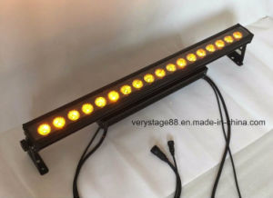 IP65 Waterproof 18*15W RGBWA UV 6 in 1 LED Wall Washer pictures & photos