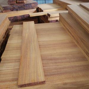 Hard Wood Flooring/ Okan Solid Wood Flooring/ Iroko Wood Flooring pictures & photos