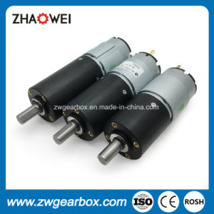 32mm 12V Small Plastic Planetary Reduction Gearbox pictures & photos