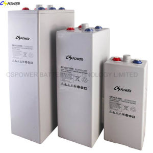 2V 600ah Tubular Plate Opzv Battery From China pictures & photos