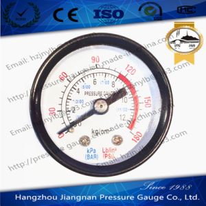 40mm 1.5′′ General Pressure Gauge with Back Connection pictures & photos