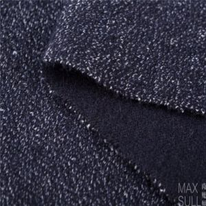 Wool /Polyester /Vicose /Cotton Mixed Wool Fabric in Deep Blue pictures & photos