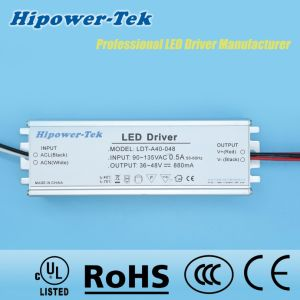 90-135VAC 40W Constant Current Traic Dimming Power Supply LED Driver pictures & photos