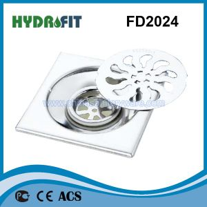 Stainless Steel Shower Floor Drain / Floor Drainer (FD2024) pictures & photos