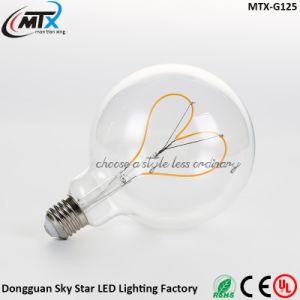 Romantic Decoration Bulb Love Heart Shape Soft 3W Filament LED pictures & photos