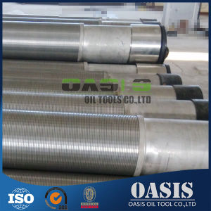 """Factory Supply 7"""" Perforated Base Pipe with Stainless Steel Screen Jacket"""