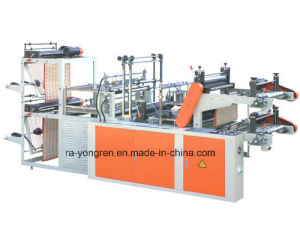 Computer Controlled High-Speed Continuous-Rolling Vest Bag Making Machine