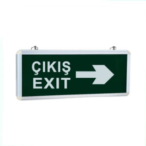 Turkey Emergency Indicator Exit Sign Emergency Battery pictures & photos