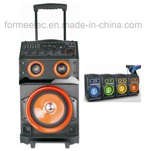 Stage Multi Media Karaoke Speaker RMS70W Subwoofer Trolley Speaker pictures & photos