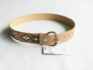 Women Fashion Embroidered Leather Belt pictures & photos