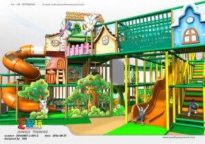 Professional Manufacturer of Village Themed Indoor Playground Equipment pictures & photos