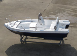 Aqualand 15feet Fiberglass Motor Fishing Boat/Speed Power Boat/River Boat (150) pictures & photos