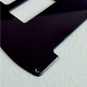 Black Color Cut for Humbucker Pickup Tele Guitar Pickguard pictures & photos