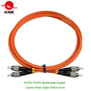 FC/PC FC/Upc FC/APC Simplex Duplex Singlemode Multimode Fiber Optic Patch Cord pictures & photos