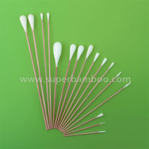 Customized Wooden Stick Cotton Swab for Industry Use