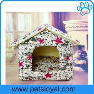 Factory Pet Puppy Bed Dog Cat Kennel House (HP-28) pictures & photos