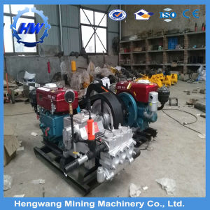 Hengwang Supply Bw160 Electric Single Cylinder Mud Pump pictures & photos