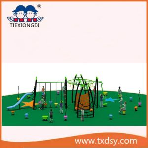 Climbing Theme Kids Plastic Slide Outdoor Playground Equipment pictures & photos