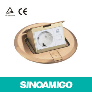 Round Floor Boxes for Wood and Concrete Power Port pictures & photos