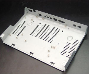 Sheet Metal Fabrication Aluminum Parts with Drilling&Milling and Anodizing pictures & photos