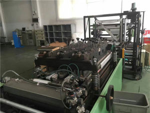 Second Hand Three Side Sealing Plastic Film Bag Making Machine pictures & photos