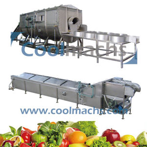 Blancher for Vegetables and Shimp Processing Line Equipment pictures & photos