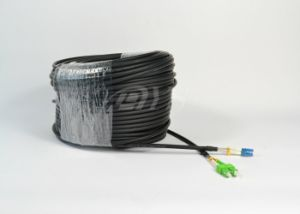 LC-Sc IP65 Duplex Fiber Optic Outdoor Assembly Cable pictures & photos