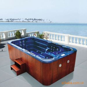 Monalisa Outdoor SPA Hot Tub Massage with Whirlpool Jacuzzi M-3337 pictures & photos