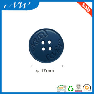 Spraying Color Metal Button Zinc Alloy Button