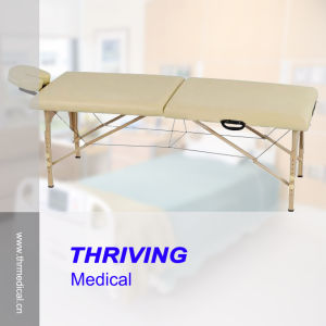 Portable Folding Wooden Massage Table (THR-WT001) pictures & photos