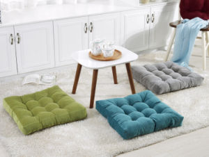 Solid Increase Thick Corduroy Futon Cushion pictures & photos