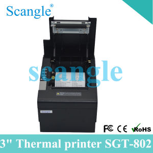 POS Thermal Receipt Printer with Durable Auto Cutter Sgt-802 pictures & photos