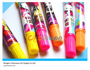 3PCS Rotatable Fluorescence Crayon for Kids and Students pictures & photos