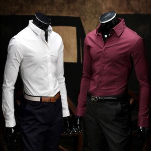 2016 New Style Designs Men′s Business Cotton Shirt pictures & photos