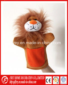 Baby Learning Story Toy of Plush Lion Hand Puppet pictures & photos