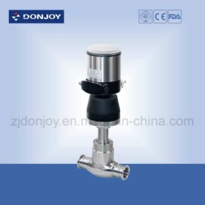 Ss 304 Sanitary Pneumatic Globe Valve with Intelligent Positioner pictures & photos
