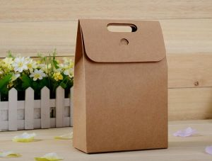 Hot Sell Sandwich Kraft Paper Bag Doypack Kraft Paper Bag pictures & photos