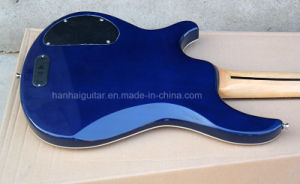 Hanhai Music / Blue Prs Style Electric Bass Guitar with 5 Strings pictures & photos