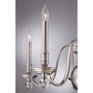 New Design Interior Chandelier Lighting with Clear Glass for Home (SL2262-5) pictures & photos