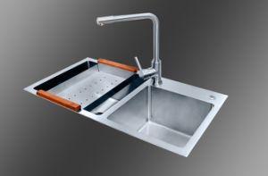 Kitchen Handmade Sink (8245S) pictures & photos