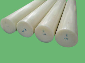 100% Virgin Nylon Rod, PA6 Rod with White Color pictures & photos