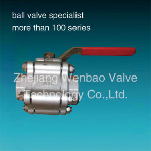 Cast Stainless Steel High Pressure Ball Valve 2000psi pictures & photos