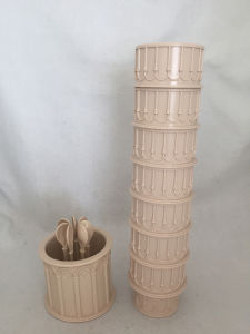 Fairy Theme Leaning Tower of Pisa Coffee Mug/ ABS Dringking Cup for Souvenir or Gift or Promotion pictures & photos