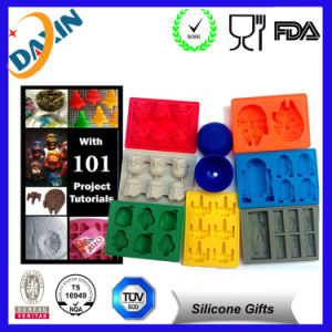 Personalized Fancy Ice Cube Trays Silicone Ice Cube Tray pictures & photos