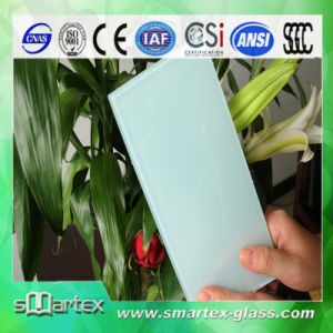 6.38mm-24.76mm Milk White Laminated Glass