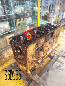 Komatsu Excavator S6d155 Cylinder Block (6127-21-1108) pictures & photos