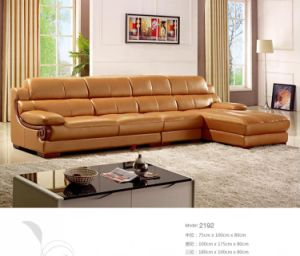 Best Quality Modern Leather Sofa for Living Room L. P2192 pictures & photos