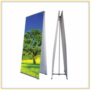Hot Selling and Cheap Aluminum L Banner Stand pictures & photos