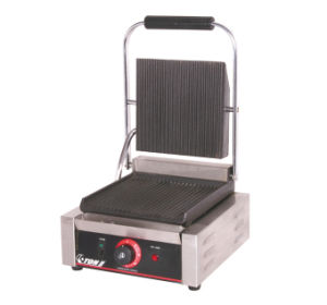 Electric Single Sandwish Panini Grill pictures & photos