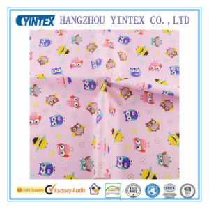 The Owl Pattern Pink Cotton Fabric Breathable for Garment/Bedding pictures & photos